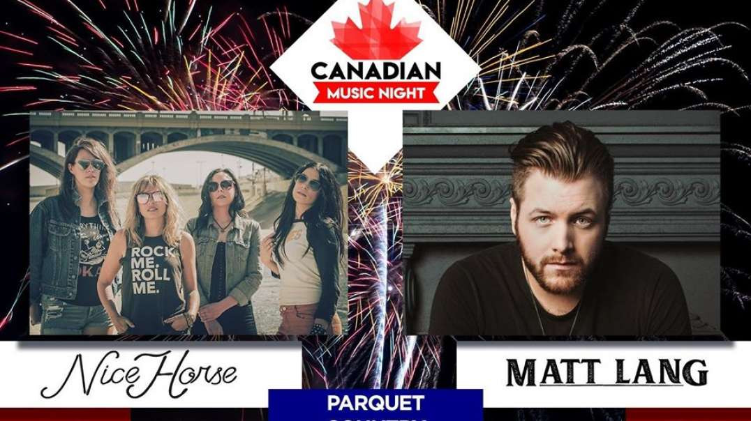 MATT LANG & NICE HORSE - CANADIAN MUSIC NIGHT (reportée à 2021)