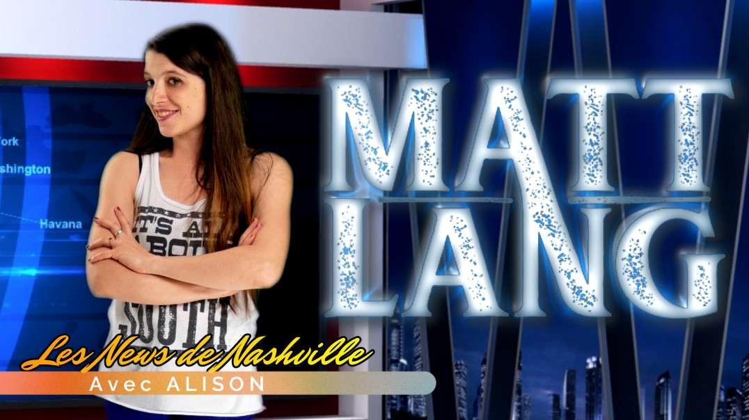 "MATT LANG - Les News de Nashville ""Promo Séries"" S01E31"