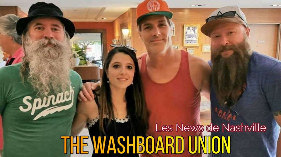 THE WASHBOARD UNION - Les News de Nashville S01E09 Interview