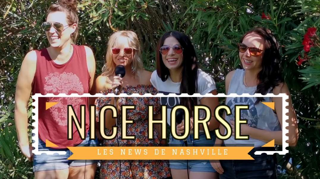 NICE HORSE - Les News de Nashville S01E03 Interview