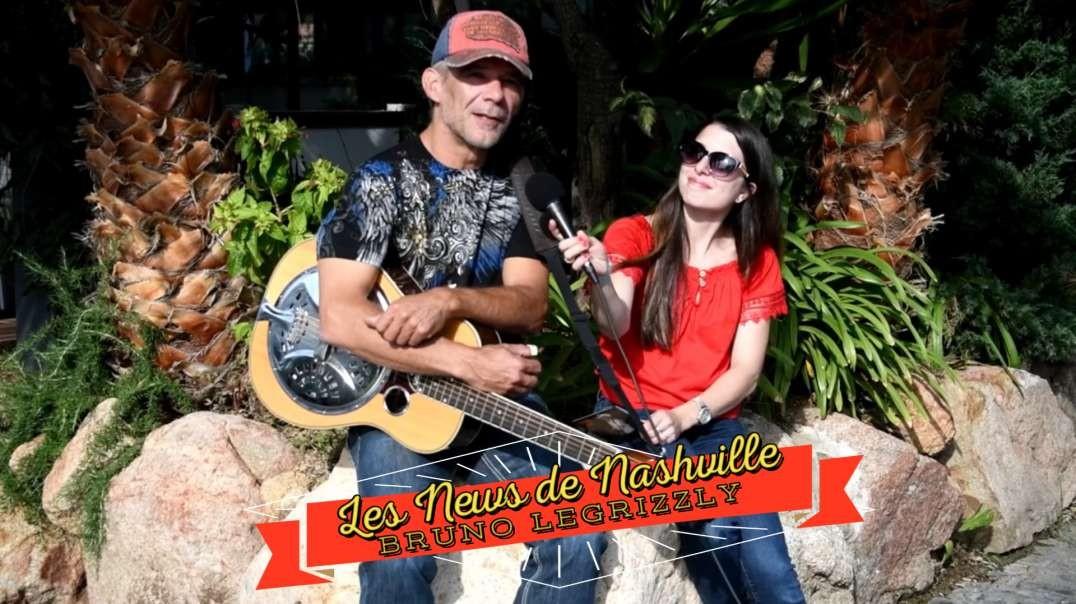 """N°16 - S01E16 BRUNO LEGRIZZLY - Les News de Nashville """"Promo Séries""""  Interview"""