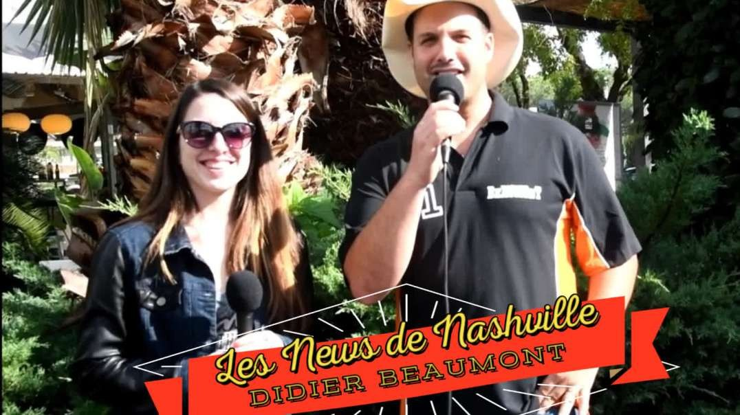 "DIDIER BEAUMONT - Les News de Nashville ""Promo Séries"" S01E04  Interview"