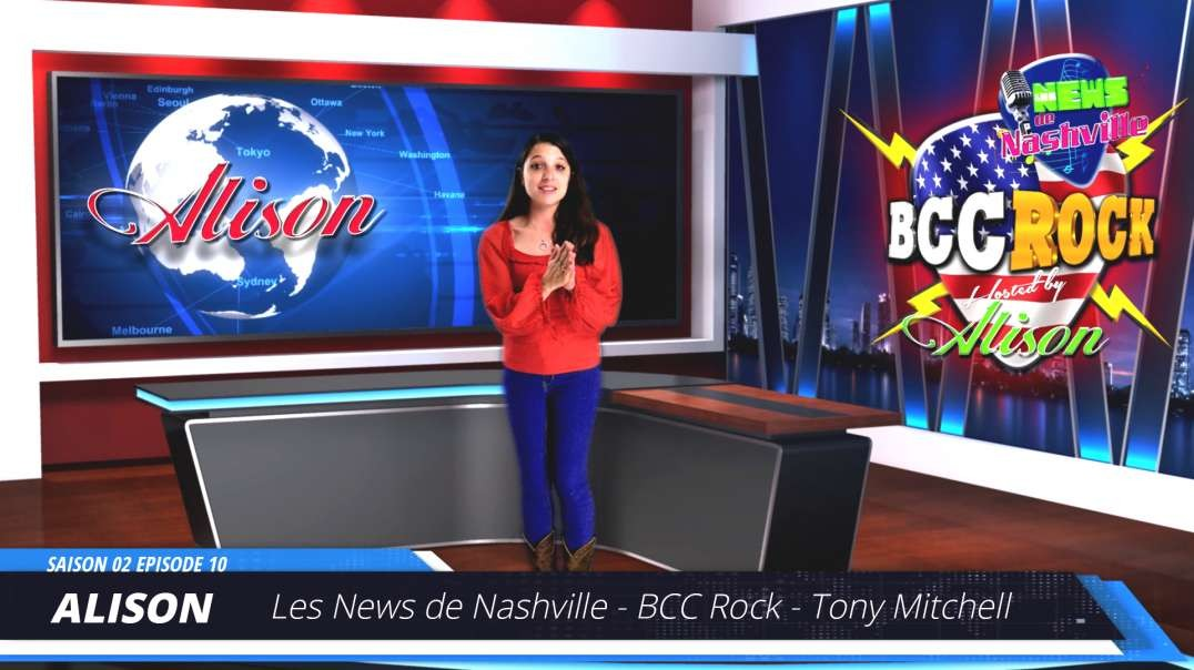 S02E10 TONY MITCHELL - Les News de Nashville BCC Rock