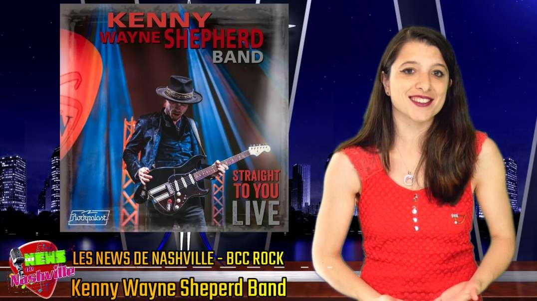 S02E11 KENNY WAYNE SHEPHERD BAND - Les News de Nashville BCC Rock