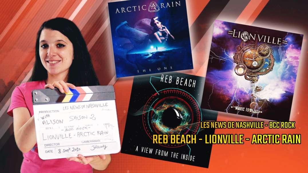 S02E12 REB BEACH - LIONVILLE - ARCTIC RAIN - Les News de Nashville BCC Rock