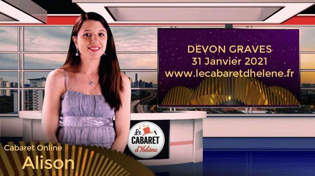Cabaret Online - Bande Annonce du 31 janvier 2021 Devon Graves
