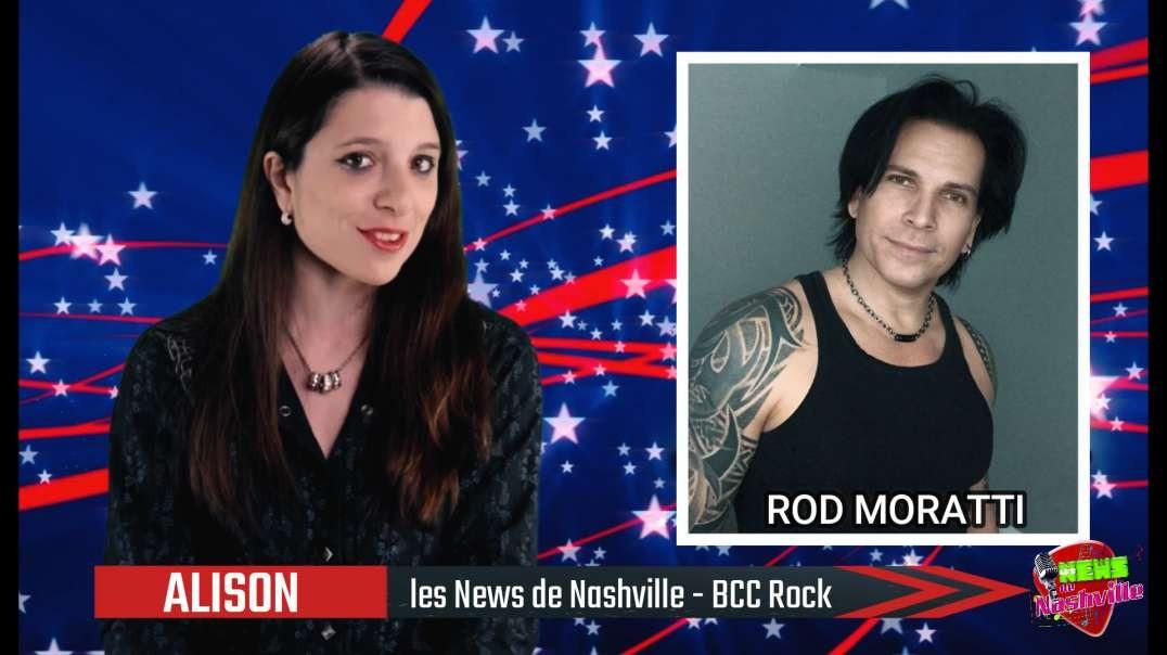 N°44 - S02E09 ROB MORATTI - Les News de Nashville BCC Rock