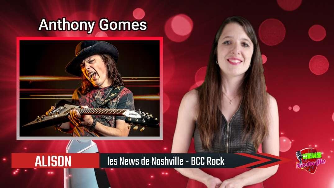N°68 - S02E33 ANTHONY GOMES (With English Subtitles) - Les News de Nashville - BCC Rock