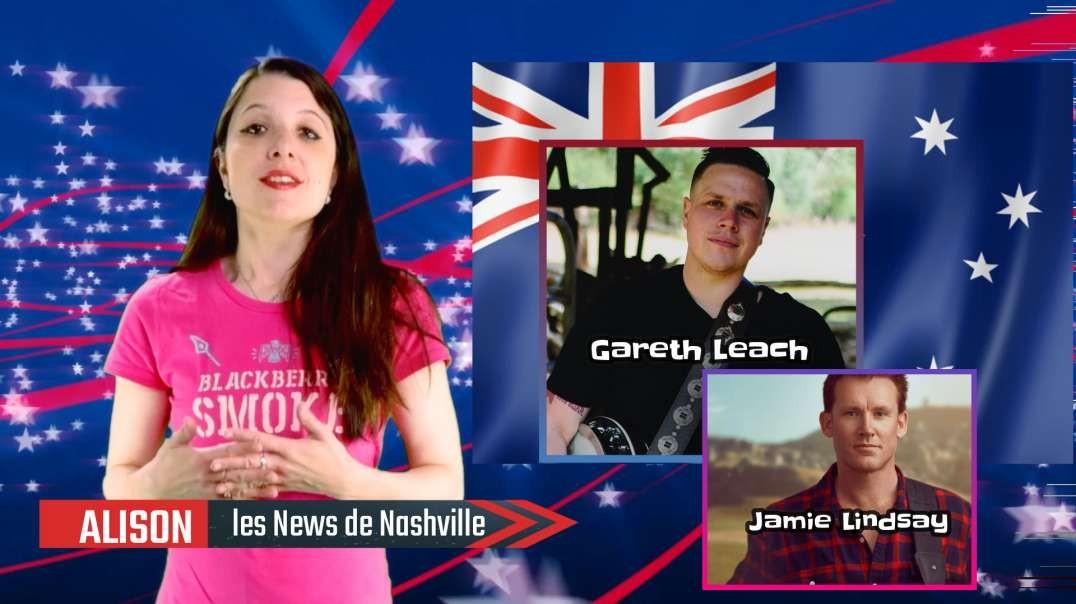 N°53 - S02E18 Gareth Leach - Jamie Lindsay  (With English Subtitles) - Les News de Nashville