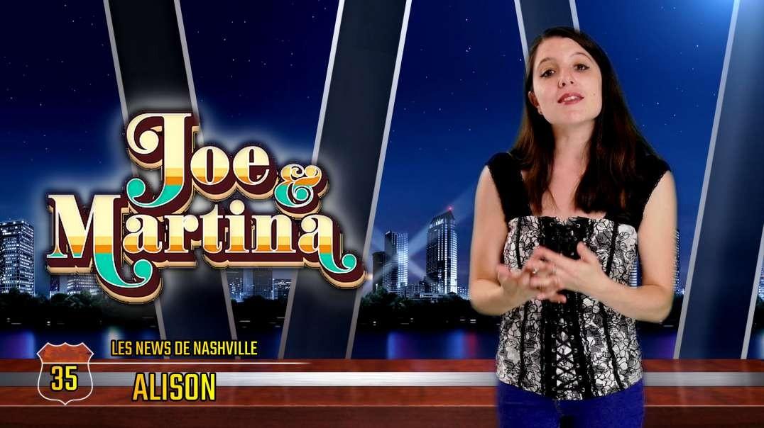 N°35 - S01E35 JOE & MARTINA - Les News de Nashville